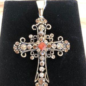 Lia Sophia Cross Pendant